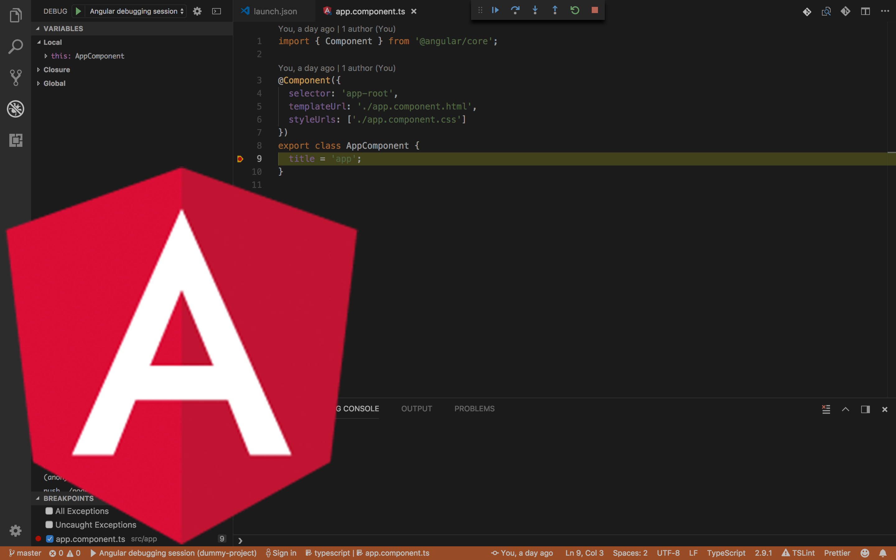 Simple instruction how to configure debugger for Angular in